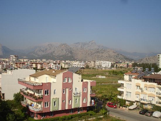Hotel Ozbekhan: hotel vue sur le mont Taurus