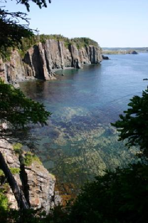 Port Rexton, Canadá: seacliff along Skerwink Trail