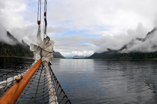 Northern Norway, Norway: View from the boat on our way to the Trol fjord