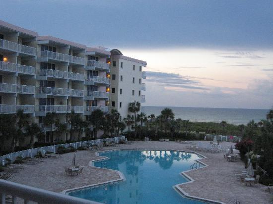 Destin West Beach and Bay Resort: Our view from Unit #316