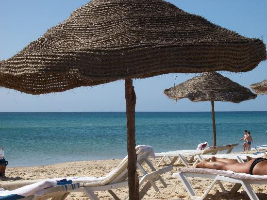 Hammamet Serail: spiaggia