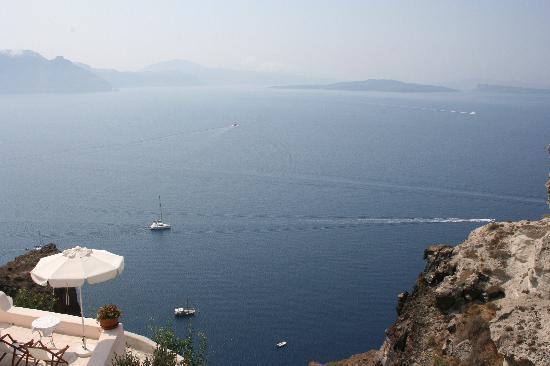 beautiful view from Ifestio Villas