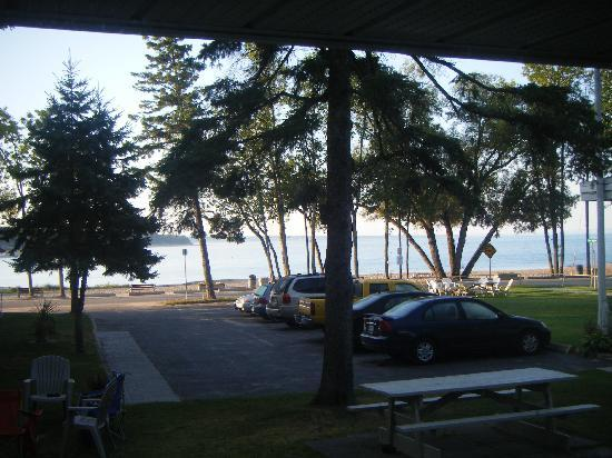 Balm Beach Resort: View from our window