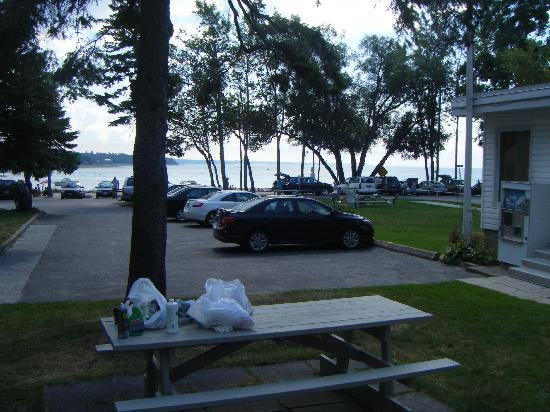 Balm Beach Resort: View from outside room