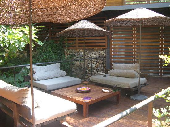 Hillside Beach Club : le spa en plein air