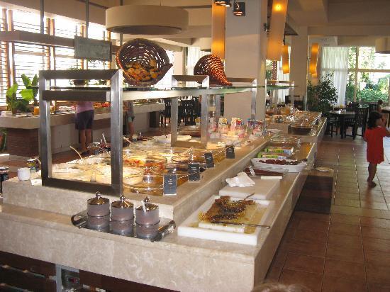 Hillside Beach Club : les buffets