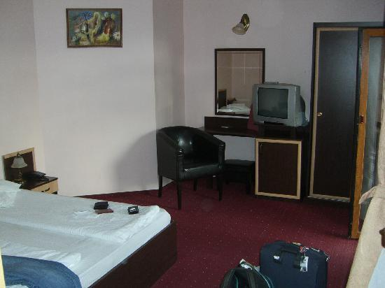 Ambient Pension: One of the bedrooms in our apartment