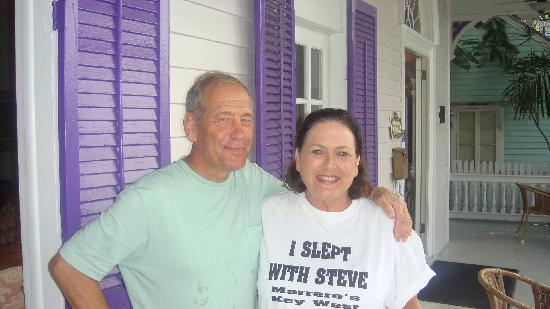 Marrero's Guest Mansion : Steve and Phyllis