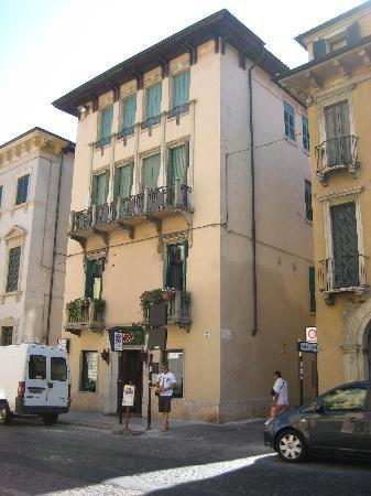 "Al Castello: Exterior--Hotel is on the second floor--Enter from the side ""vicolo"""
