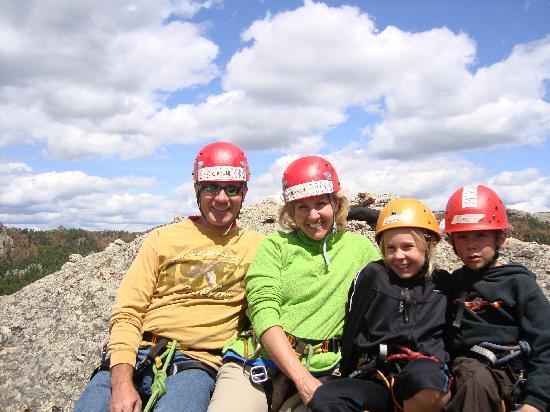 Sylvan Rocks Climbing School: We made it!!
