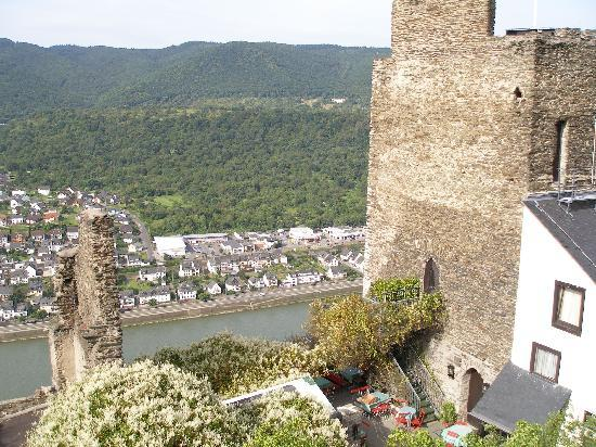 Kamp-Bornhofen, Germany: Picture of hotel from view point