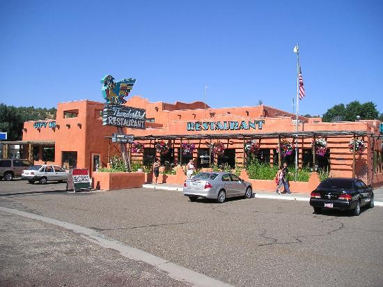 Mount Carmel, UT: The Front End of the Thunderbird Lodge