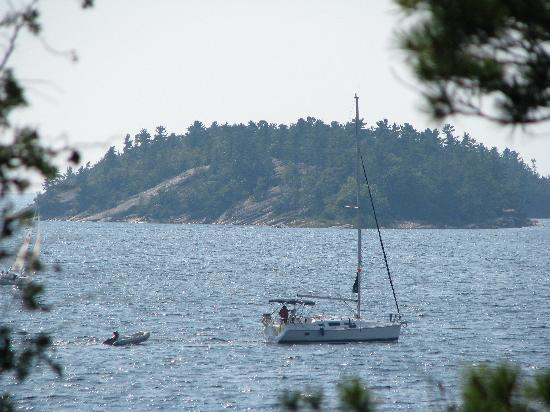 Killbear Provincial Park : view from harolds point cliffs