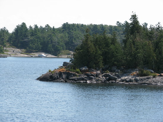 Nobel, Канада: scenery of parry sound, georgian bay