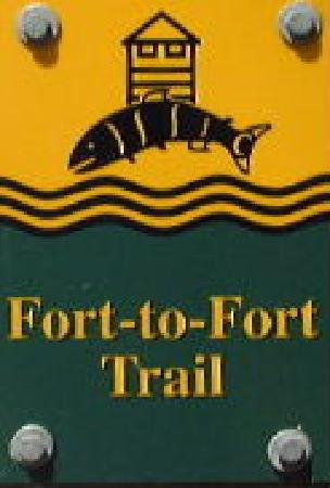 Fort to Fort Trail marker
