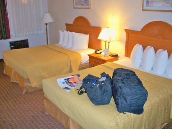 Quality Inn: My room