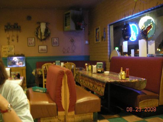 Blue Moon Cafe : Dining area