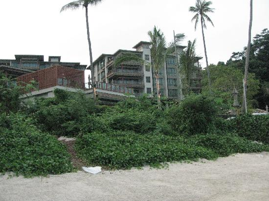 ShaSa Resort & Residences, Koh Samui: view from the beach