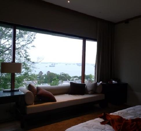 Capella Singapore: room with view