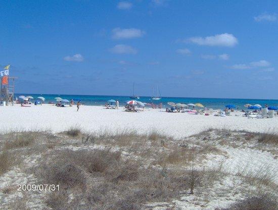 Isla Del Aire Apartments: great beach