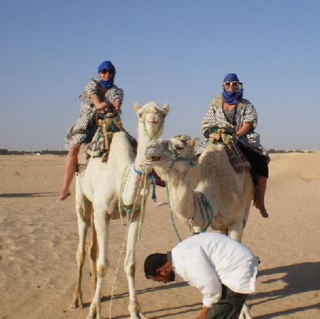 Marhaba Beach: two days in the sahara
