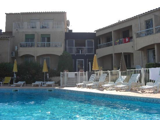 Hotel Funtana Marina: View from the pool area