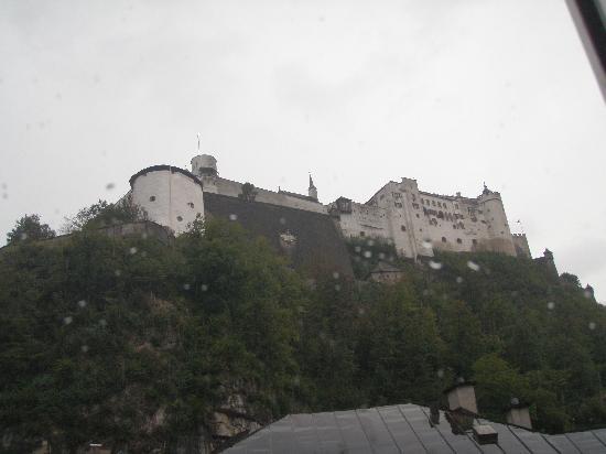 Altstadthotel Kasererbräu: view from first floor window of fortress
