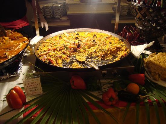 Zafiro Rey don Jaime: fabulous paella in the restaurant!