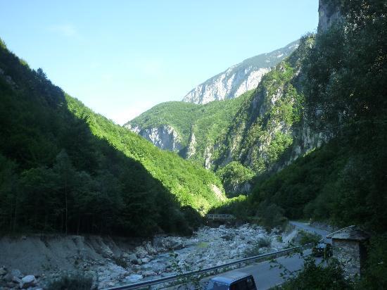 Rugova Mountains : Ein Blick auf die Berge