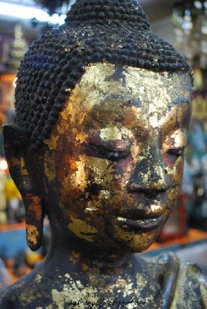 Hat Yai, Thailand: A Bronze Statue of Buddha
