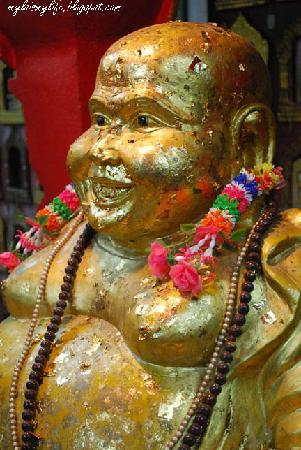 Wat Hat Yai Nai: A Golden Laughing Buddha