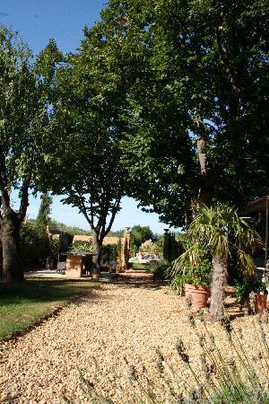 Demeure de Roquelongue : Le jardin