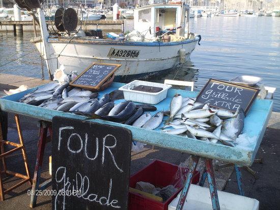 Marsella, Francia: la criee