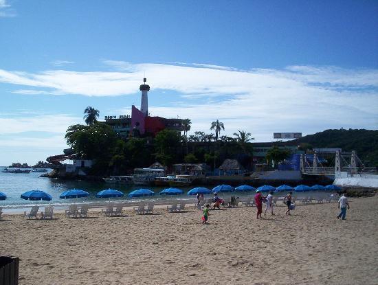 El Mirador Acapulco Hotel: playas de caleta y caletila.