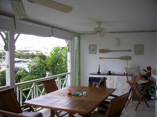 Port St. Charles: Balcony