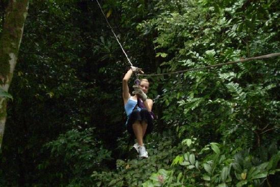 Le Meridien Panama: Me ziplining in Colon, panama outdoor adventures