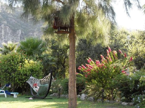 Aydos Club: resting in the hammock
