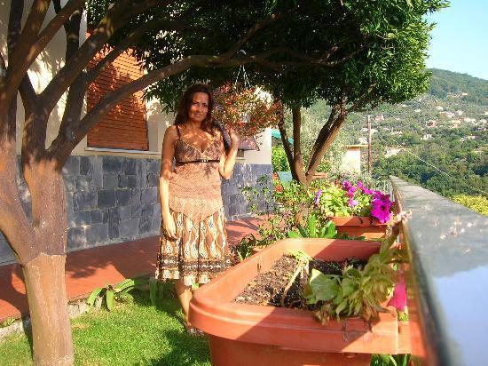 Recco, إيطاليا: giardino
