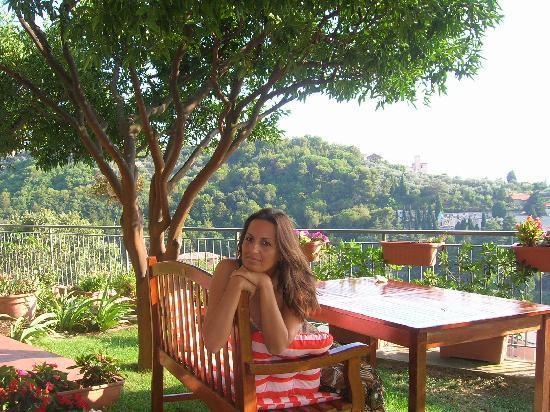 Recco, Ιταλία: giardino