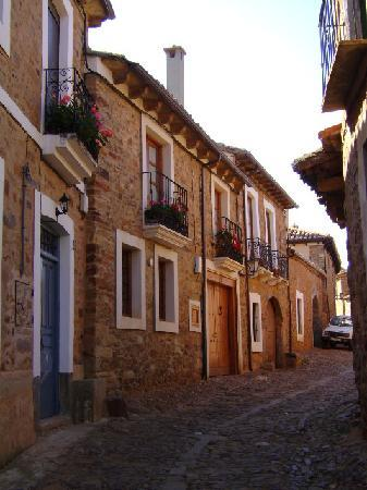Castrillo de los Polvazares, Hiszpania: Castrillo de Polvazares, vista de las calles, León