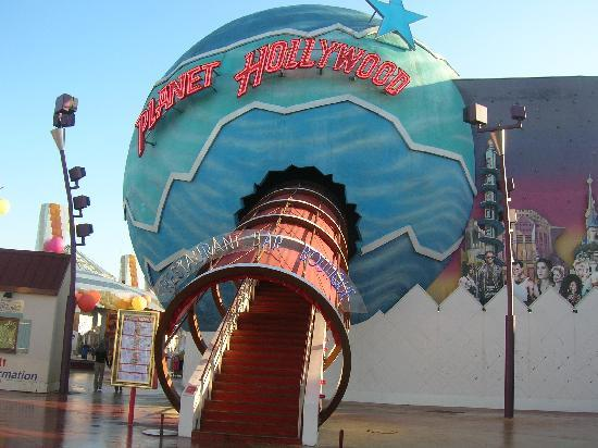 Planet Hollywood Restaurant Entrance Picture Of Disney