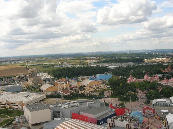 Disney Village: Studios Park from balloon.