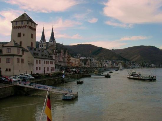 River Rhine, Sankt Goar, Germany