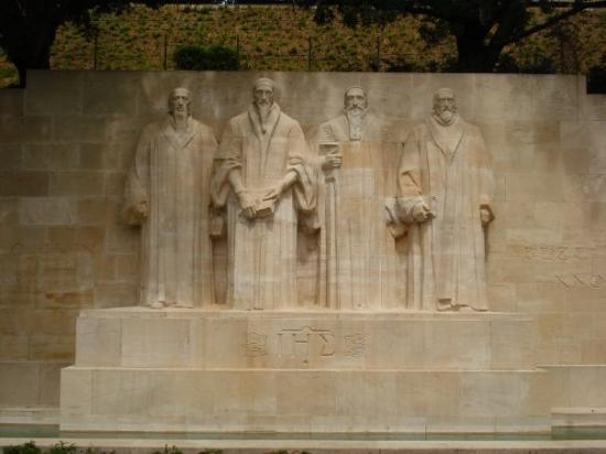 Reformation Wall (Mur de la Reformation): Wall de la Réforme - Parc Des Bastions