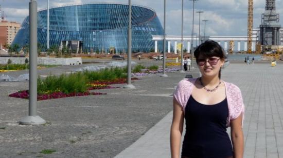 Astana, Kazachstan: Астана, новый стадион