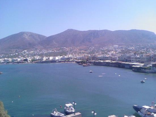Hersonissos, Greece: Harbour by day