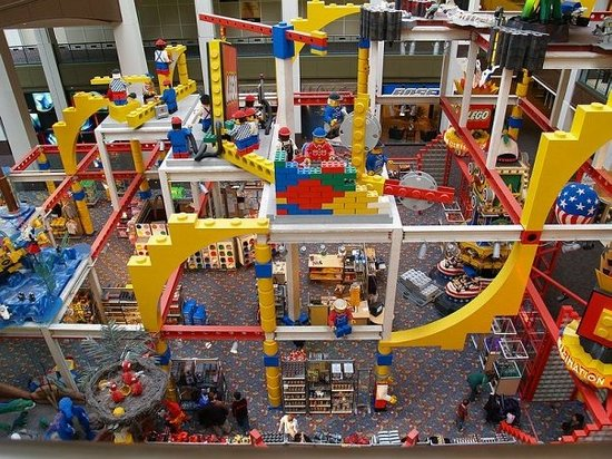 Lego Imagination Center Bloomington Mn Hours Address