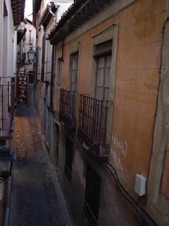 Hostal Restaurante La Campana: View from our window