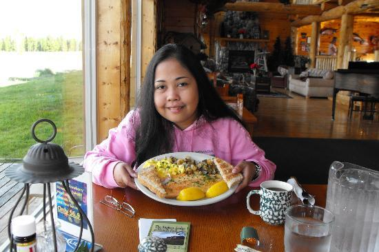 Angler's Lodge: The Rainbow Trout breakfast