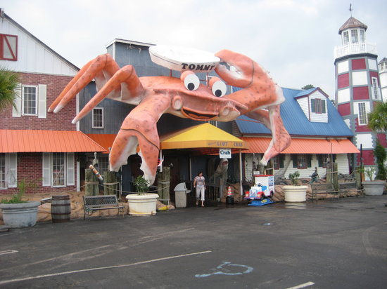 Giant Crab Seafood Restaurant This Is All I Really Wanted A Pic